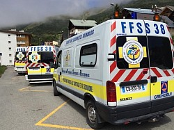 Triathlon de l'Alpe d'Huez 2014 - nos ambulances